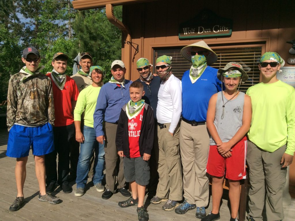 Nonprofit Youth Group Canoe Outfitting-River Point Outfitting Co.-Ely