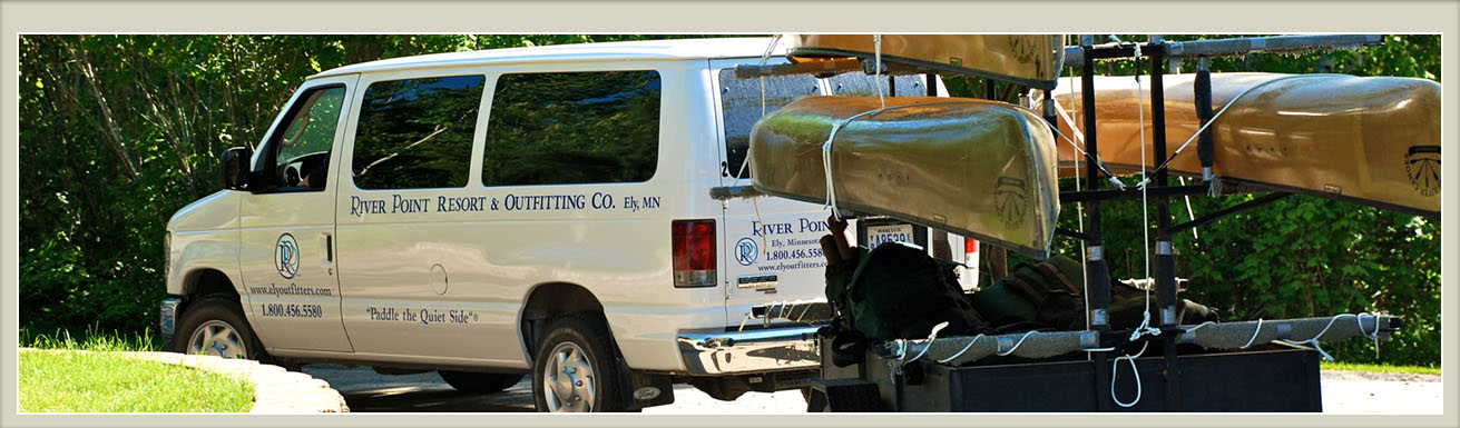 Boundary Waters Transport Shuttles   River Point Outfitting